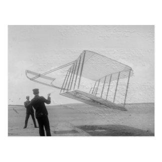 El vuelo de prueba de los hermanos de Wright Postal