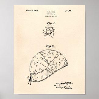 El water polo Gap 1925 patenta el arte Peper viejo