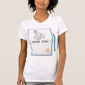 El water polo observa la camiseta para mujer