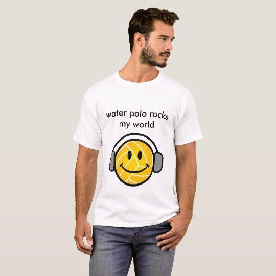 El water polo oscila mi camiseta del mundo