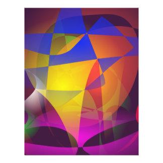 El Web de araña colorido Flyer A Todo Color