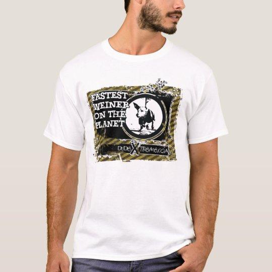 El Weiner más rápido Camiseta