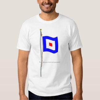El whisky requiere la bandera de señal médica de camiseta