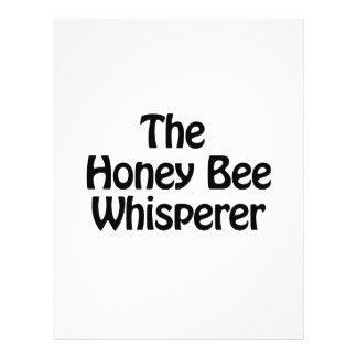 el whisperer de la abeja de la miel folleto 21,6 x 28 cm