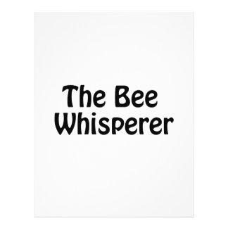 el whisperer de la abeja folleto 21,6 x 28 cm