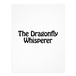 el whisperer de la libélula folleto 21,6 x 28 cm