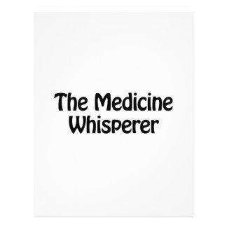 el whisperer de la medicina folleto 21,6 x 28 cm