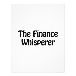 el whisperer de las finanzas folleto 21,6 x 28 cm