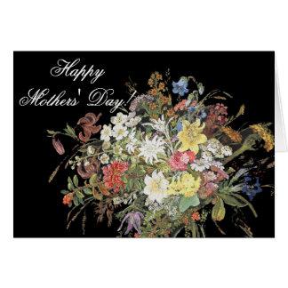 El Wildflower alpino florece la tarjeta del día de