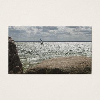 El Windsurfing - tarjeta de visita
