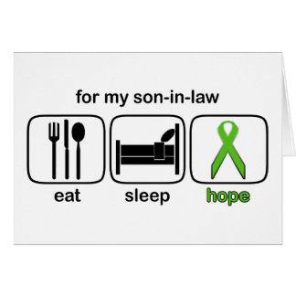 El yerno come la esperanza del sueño - linfoma felicitaciones
