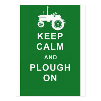 el zazzle guarda plough.jpg tranquilo postal