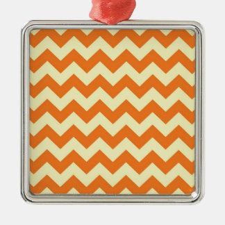 El zigzag poner crema anaranjado de Chevron de la Ornamentos Para Reyes Magos