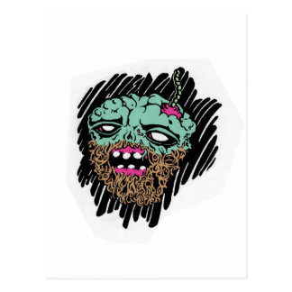el zombi hizo frente a goods jpg tarjeta postal