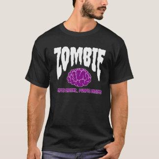 El zombi oscila el cerebro púrpura del | camiseta