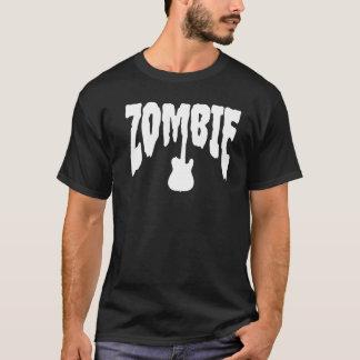 El zombi oscila la guitarra del | camiseta