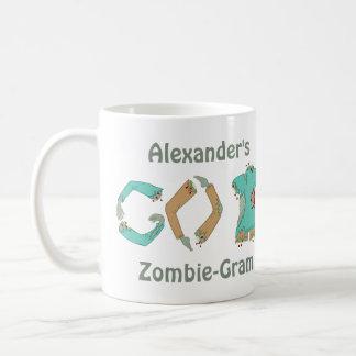 El zombi VUELVE friki divertido que el estilo Taza De Café