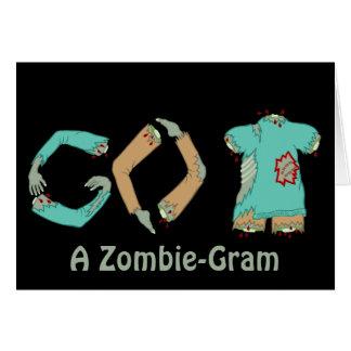 El zombi VUELVE humor divertido del friki que Tarjeta De Felicitación