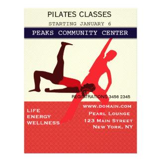 ¡Elabórelo! Entrenamiento del ejercicio de la yoga Folleto 21,6 X 28 Cm