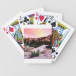 Eldorado del desierto de la desolación del bosque baraja cartas de poker