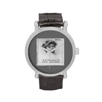 Eleanor Roosevelt y reloj unisex de la cita