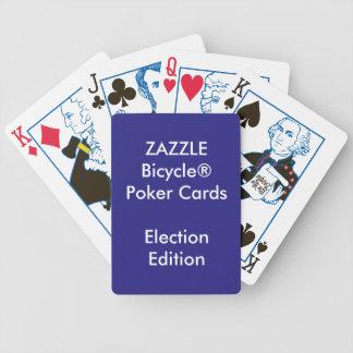 ELECCIÓN de encargo de los naipes del póker de