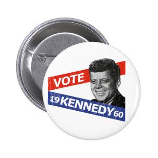 Elección de JFK Kennedy Pins