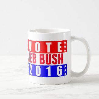Elección presidencial de Jeb Bush 2016 del voto Taza De Café