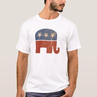 Elección republicana 2012 del elefante camiseta