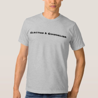 Elección y predicación del evangelio camisas