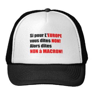 Elecciones presidenciales 2017 de Francia - gorra