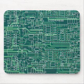 Electric circuit layout alfombrilla de ratón