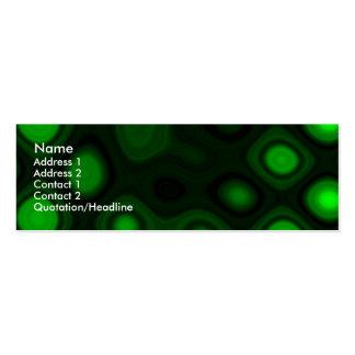 Electricidad verde I - plantilla Plantilla De Tarjeta Personal
