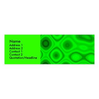 Electricidad verde II - plantilla Tarjeta Personal