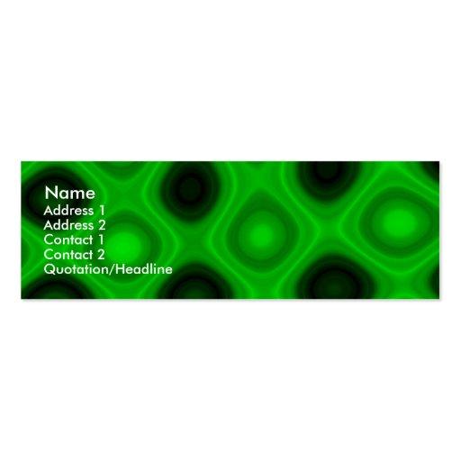 Electricidad verde II Tarjetas De Negocios