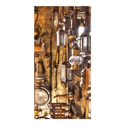 ¡Electricista - deje allí para ser luz! Tarjetas Fotográficas Personalizadas