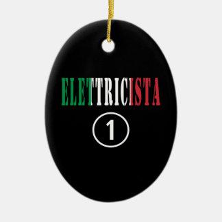 Electricistas italianos: Uno de Elettricista Adorno Ovalado De Cerámica