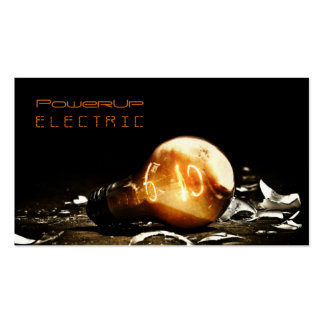 Eléctrico, electricista, tarjeta de visita