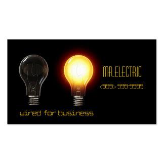 Eléctrico, tarjeta de visita del electricista