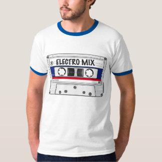 Electro cinta de la mezcla camiseta