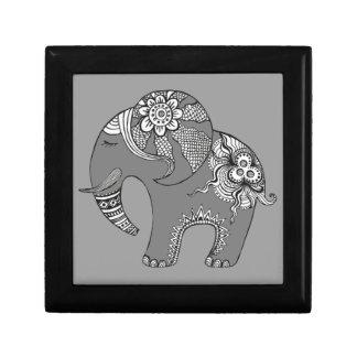 Elefante 4 caja de regalo