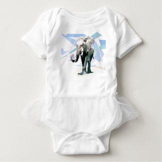 elefante africano body para bebé