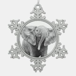 Elefante africano del bebé adornos