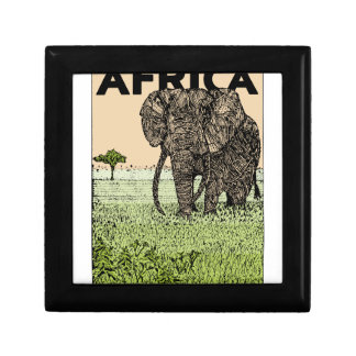 Elefante africano joyero