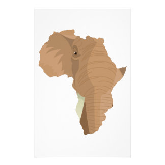 Elefante africano papeleria