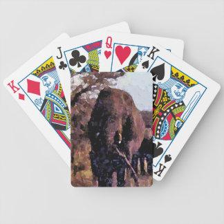 Elefante Barajas De Cartas
