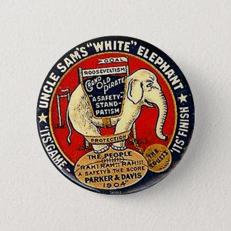 Elefante blanco - botón