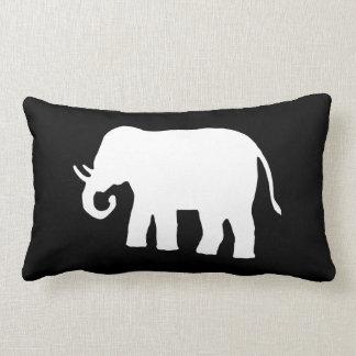 Elefante blanco cojín lumbar