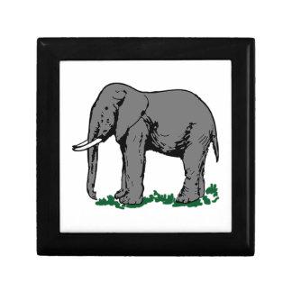 Elefante Caja De Regalo
