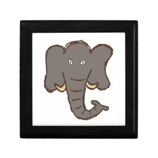 Elefante Cajas De Recuerdo